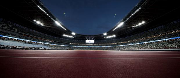 Large card stadium
